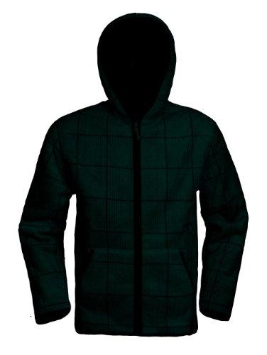 White Sierra Men's Moraine Hooded Fleece Jacket