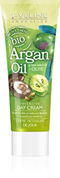 bio Argan Oil + Grape Seed Oil + Olive Intensive Day Cream 75ml by Eveline Cosmetics