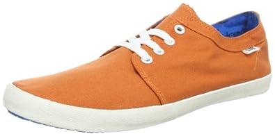 Globe Gbredbly, Chaussures basses mixte adulte - Orange (Terracotta/Cyan 19809), 40.5 EU