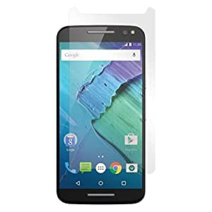 SNOOGG Pack 9 Motorola Moto ZFull Body Tempered Glass Screen Protector [ Full Body Edge to Edge ] [ Anti Scratch ] [ 2.5D Round Edge] [HD View] - White