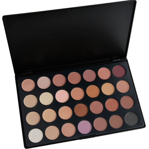 IQ Natural 28 Color Eyeshadow Palette, Neutral (non Coastal