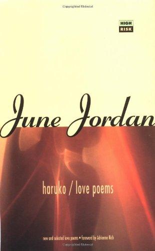 Haruko/Love Poems (High Risk Books)