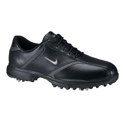 Nike 2011 Heritage Golf Shoes : Black - Met Silver - Black 11 M