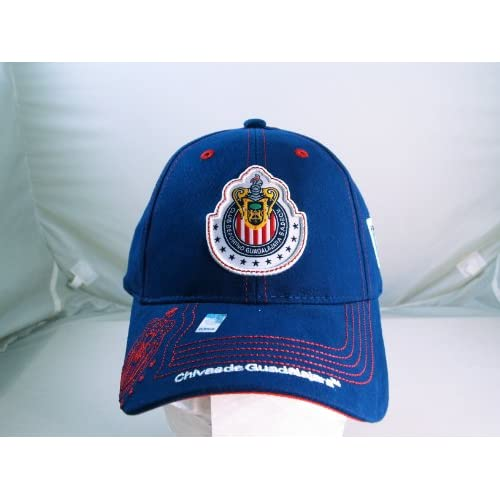 CHIVAS de GUADALAJARA OFFICIAL TEAM LOGO CAP / HAT   CV014