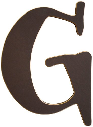 New Arrivals The Letter G, Chocolate Brown