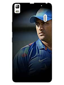 Justgirlythings Dhoni - The Captain Superior Matte Finish - Hd Printed Cases And Covers For Lenovo K3 Note