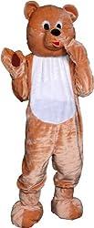 Teddy Bear Economy Mascot Adult Costume - Mascot Costumes