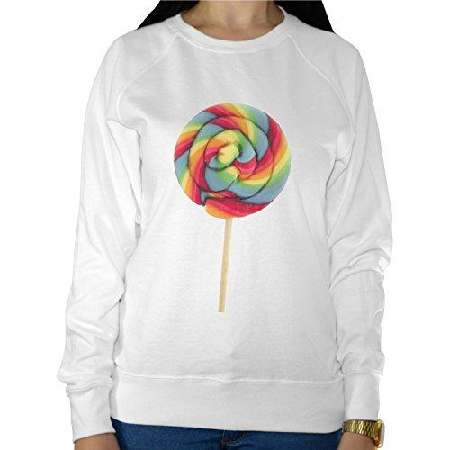 Felpa Leggera Donna Lollipop Chupa Chups Multicolor