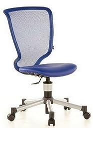 children 39 s office chair titan junior net leather dark