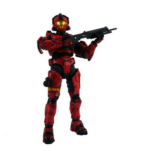Buy Low Price McFarlane Halo 3 Series 2 Spartan Soldier CQB Red Figure (B000VZXWN6)