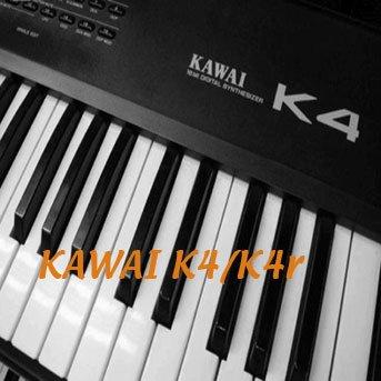 KAWAI K4/K4r Huge Original Sound Library & Editors