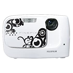 41Bm5Ax95RL. AA280  Fujifilm FinePix Z30 10MP Digital Camera in White   $70 After $80 Discount