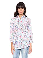 Desigual Camisa Out Terro Rep (Blanco)