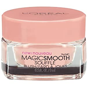 L'Oreal Paris Magic Smooth Souffle Blush, Cherubic/Rose, 0.30 Ounces