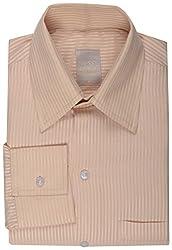 Koutons Men's Formal Shirt (HD-104--40, Yellow, 40)