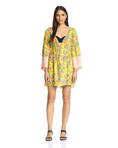 Sofia by ViX Women's Flower Caftan