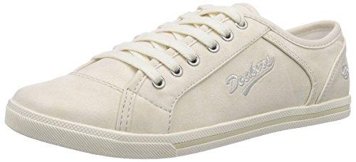 Dockers by Gerli 27CH221, Low-Top Sneaker donna, Beige (Beige (beige 530)), 38