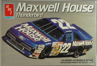 #6457 AMT/Ertl Sterling Marlin Maxwell House Thunderbird 1/25 Scale Plastic Model Kit