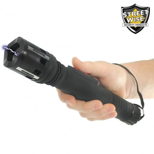 Security Guard 6,000,000* Stun Flashlight Rechargeable