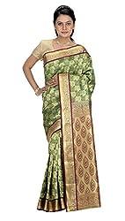 Srinidhi Silks Green Silk Sari (Ssi New 0929)