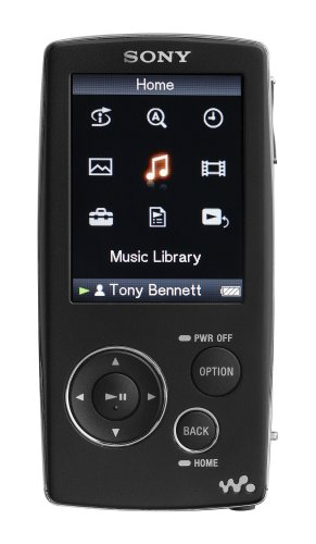 Sony 8 GB Walkman Video MP3 Player (Black)