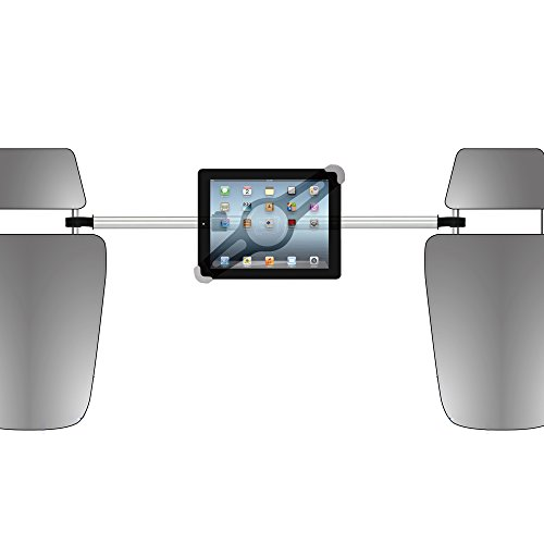 Ivapo Ipad Headrest Mount Car Seat Headrest Mount Holder For Apple Ipad Ipad2 The New Ipad3 Ipad4 Ipad Air 1 2 3 4 (Tablet Headrest Mount)