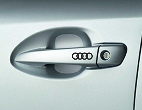 6-x-audi-car-door-handle-decals-stickers-a3-a4-a6-quattro-premium-quality