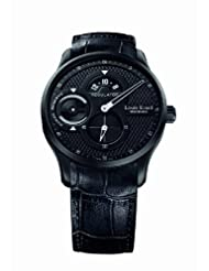 Louis Erard Men's 54209AN12.BDC26 1931 Black PVD Power Reserve Watch