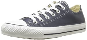 Converse Chuck Taylor All Star Core Leather Ox, Baskets mode mixte adulte - Bleu (Marine), 44 EU