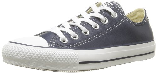 CONVERSE Unisex-Adult Chuck Taylor All Star Core Leather Ox Trainers 246270-61-10 Marine 8.5 UK, 42 EU