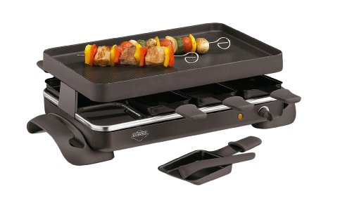 Kuchenprofi 8-Tray Premium German Engineered Raclette Grande
