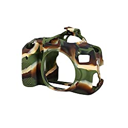 EasyCover EA-ECC750DC Case for Canon 750D/T6i Camera (Camo)