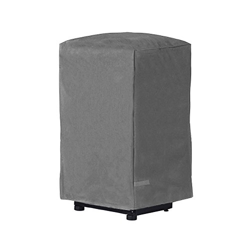 Rust-Oleum Rust Reducing Square Smoker Grill Cover Made In America - Dark Gray