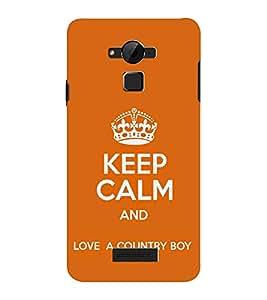 EPICCASE Keep calm case Mobile Back Case Cover For CoolPad Dazen Note 3 Lite (Designer Case)