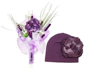 Jamie Rae Single Stem Passionate Purple Bouquet