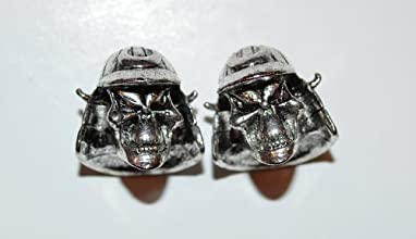 The Samurai Skull Bead for Paracord and Lanyards Twin Pack
