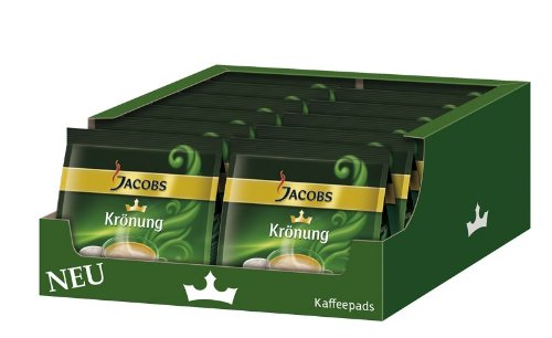 Jacobs Krönung Crema Classic, Pack of 12, 12 x 16 Coffee Pods from Kraft Foods