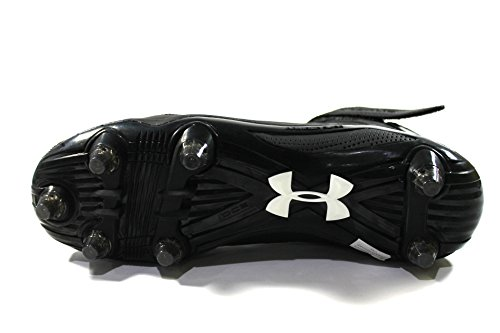 Under Armour Men\u0026#39;s Micro G Renegade Mid D Black Football Cleats ...
