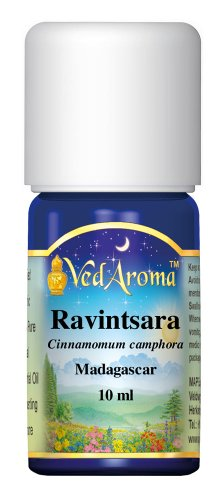 VedAroma Ravintsara Certified Organic Therapeutic Grade Essential Oil 10 ml