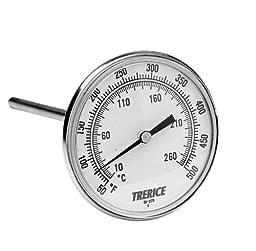 Trerice B831X0405 X-Series OEM Bimetal Thermometer, 1/2\