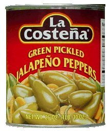 La Costena Whole Jalapenos 26 oz