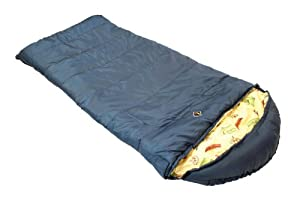 Ledge Sports Springz +25 F Flannel Lined Youth Sleeping Bag 64 X 27