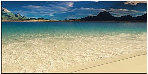 Perspective Digital painting canvas giclee modern art beach