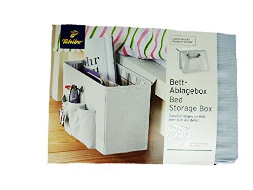 tcm tchibo bettablage bett ablagebox zum einh ngen. Black Bedroom Furniture Sets. Home Design Ideas