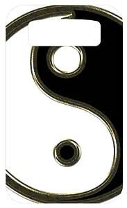 Yin Yang Karate Symbol White Back Cover Case for Blackberry Bold 9700