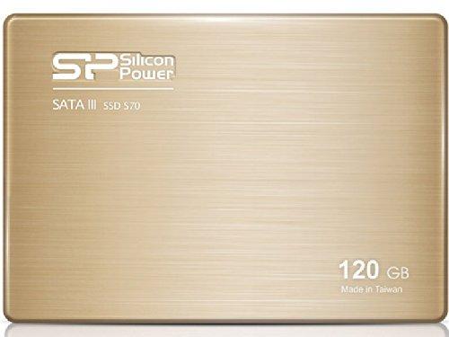 シリコンパワー 240GB SSD Slim S70 SATA3 シャンパンゴールド SPSSDS70240G