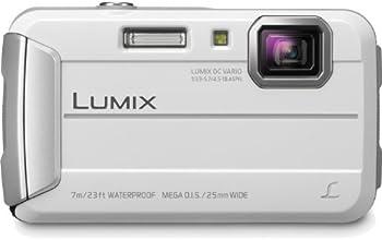 Panasonic Lumix DMC-TS25 16.1 MP Tough Digital Camera with 8x Intelligent Zoom (White)