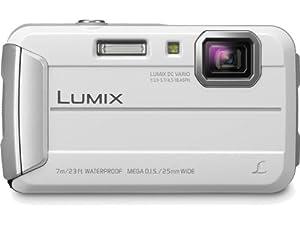 Panasonic Lumix DMC-TS25W 16 MP Waterproof Digital Still Camera (White)