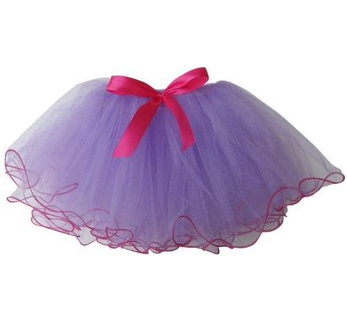 Frilly Party Girls Dance Dress-Up Princess Fairy Costume Dance Recital Tutu