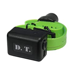 D.T. Systems Add-on or Replacement Beeper Collar Receiver for Dogs, Black by D.T. Systems